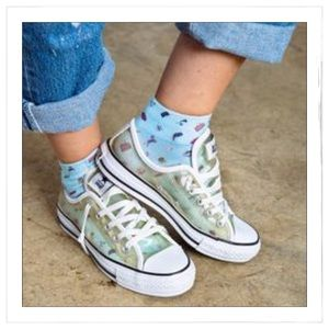 00abc3ae1d3205 Converse Shoes - Rare Converse Clear All Star Sneakers